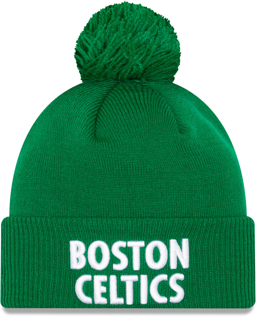Boston Celtics New Era NBA 2020 City Alt Knit Bobble Hat