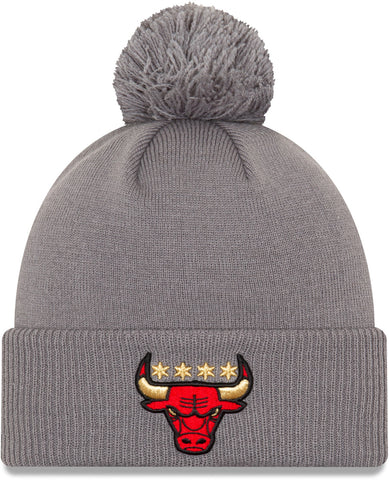 Chicago Bulls New Era NBA 2020 City Alt Knit Bobble Hat
