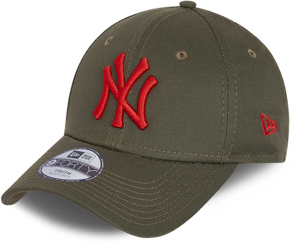 Ny Yankees New Era 940 League Essenziale Granata Cappello Baseball
