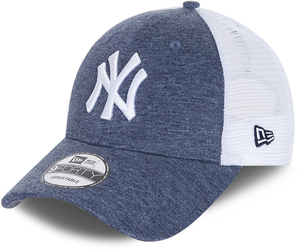 NY Yankees Kids New Era 940 Home Field Navy Trucker Cap (Ages 6 - 12)