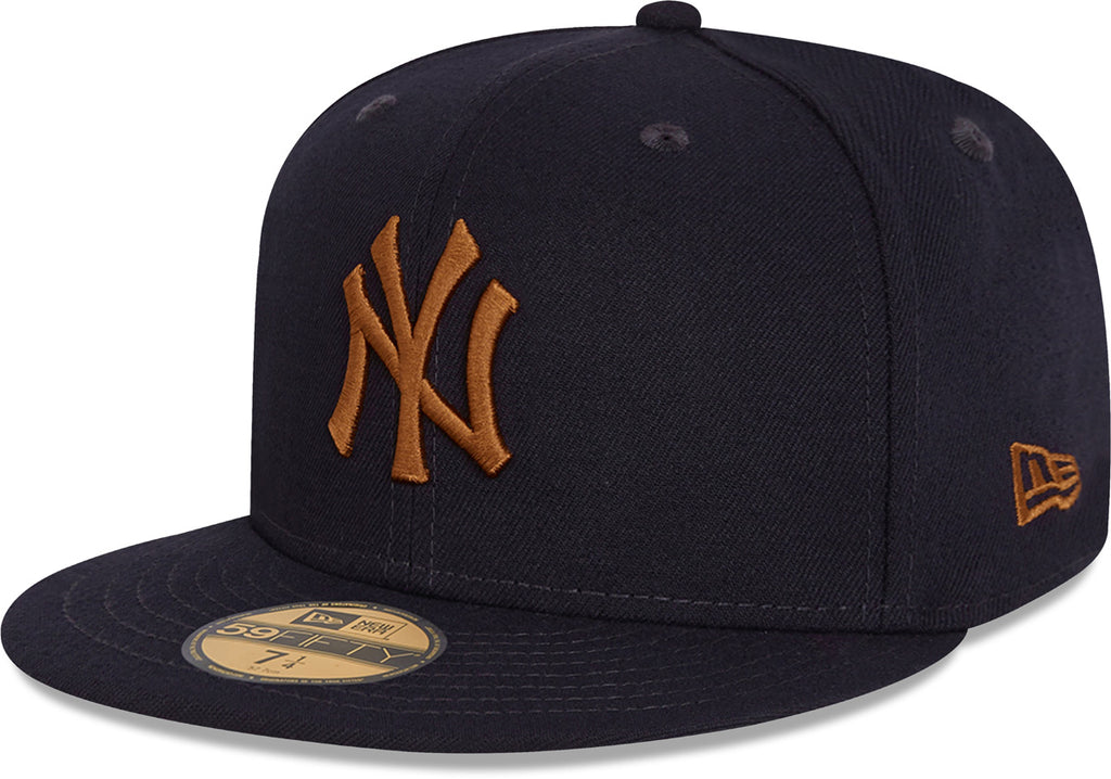 New York Yankees New Era 5950 League Essential Navy Baseball Cap