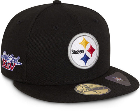 Pittsburgh Steelers New Era 59Fifty Retro Sports NFL Team Cap