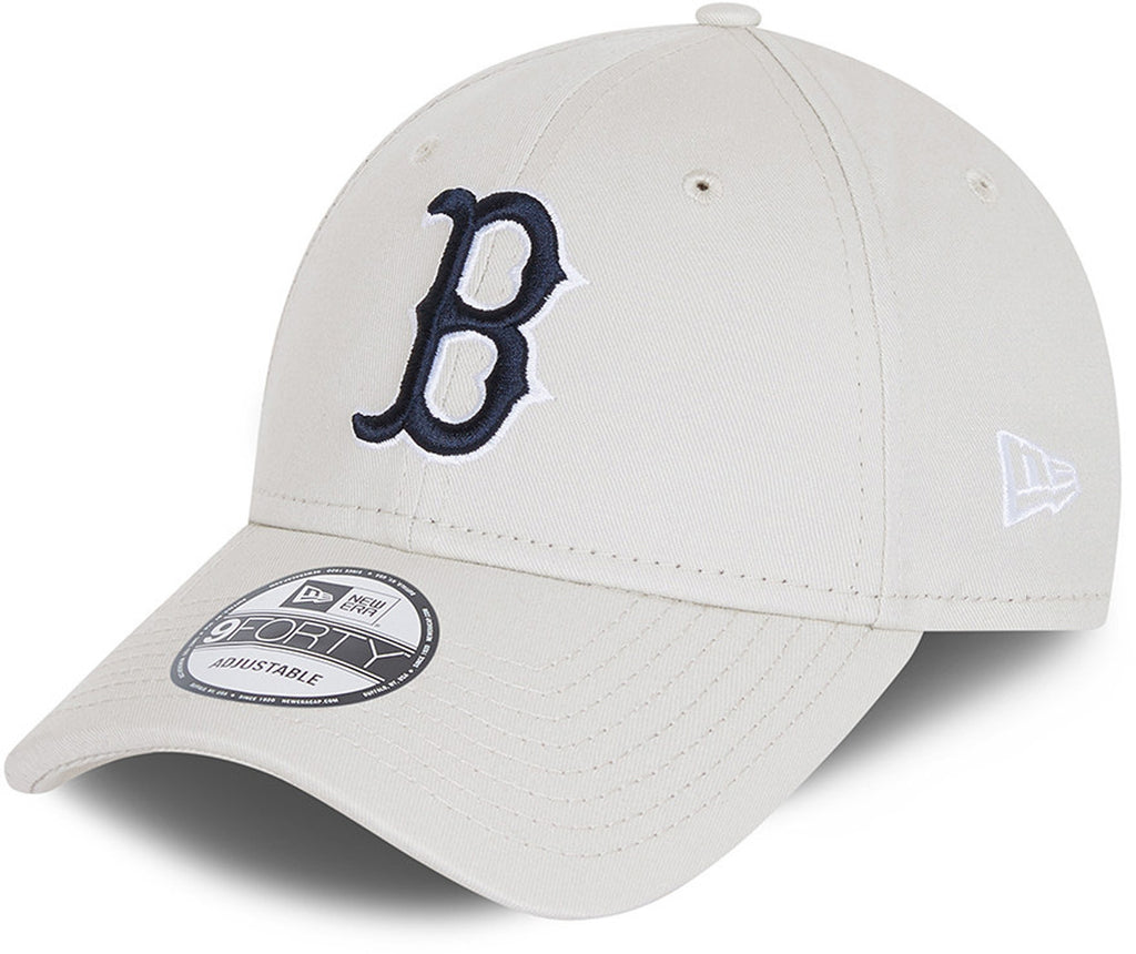 Boston Red Sox New Era 940 League Essential Stone Baseball Cap