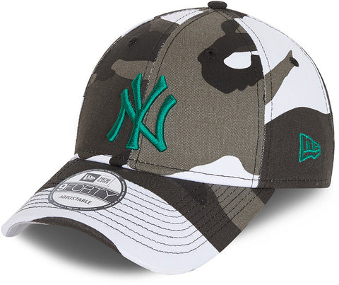 New York Yankees New Era 940 URC Camo Baseball Cap