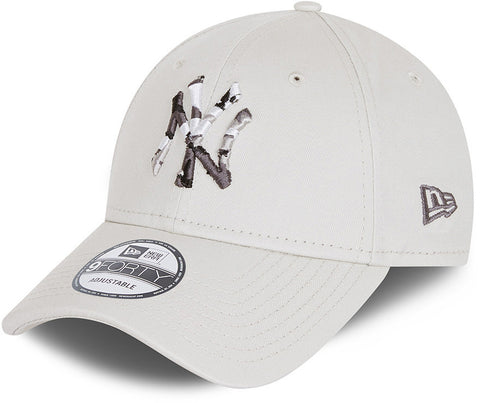 New York Yankees New Era 940 Camo Infill Stone Baseball Cap