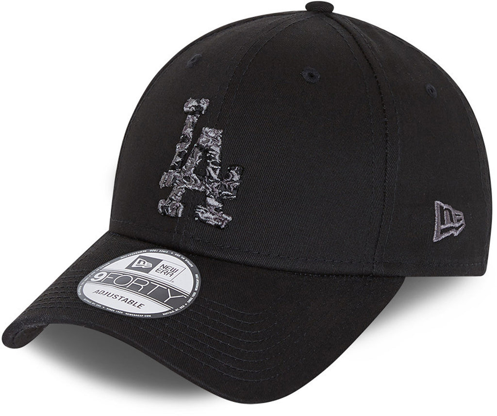 Los Angeles Dodgers New Era 940 Camo Infill Black Baseball Cap