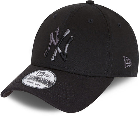 New York Yankees New Era 940 Camo Infill Black Baseball Cap