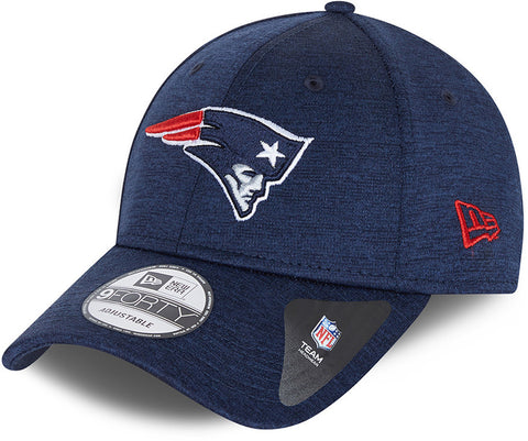New England Patriots New Era 940 Shadow Tech Navy Cap