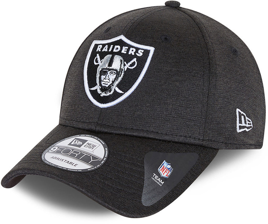 Las Vegas Raiders New Era 940 Shadow Tech Black Cap