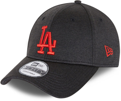 Los Angeles Dodgers New Era 940 Shadow Tech Black Baseball Cap