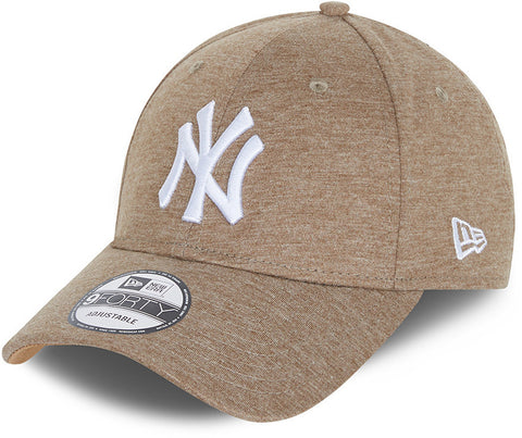 New York Yankees New Era 940 Jersey Essential Wheat Baseball Cap