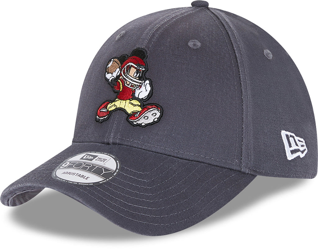 Mickey Mouse New Era 940 Disney Character Sports  Grey Cap