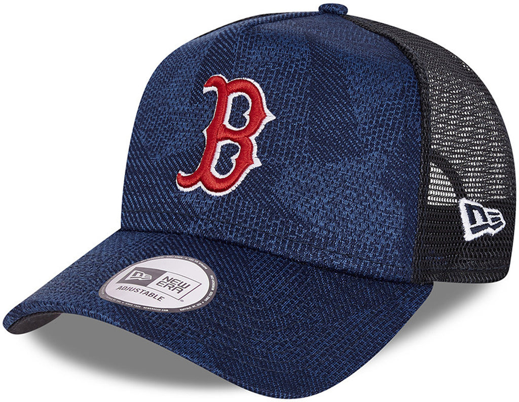 Boston Red Sox New Era Engineered Fit Navy Trucker Cap