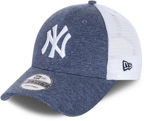 New York Yankees New Era 940 Home Field Navy Trucker Cap