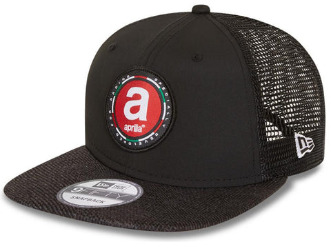 Aprilia New Era 950 Engineered Fit Black/Grey Snapback Cap
