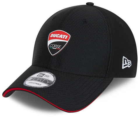 Ducati New Era 940 Hex Era Black Cap