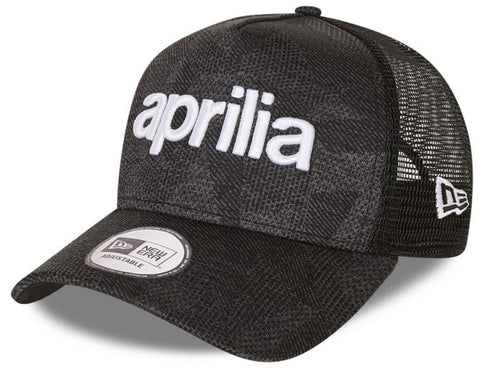 Aprilia New Era Engineered Fit Wordmark A-Frame Trucker Cap