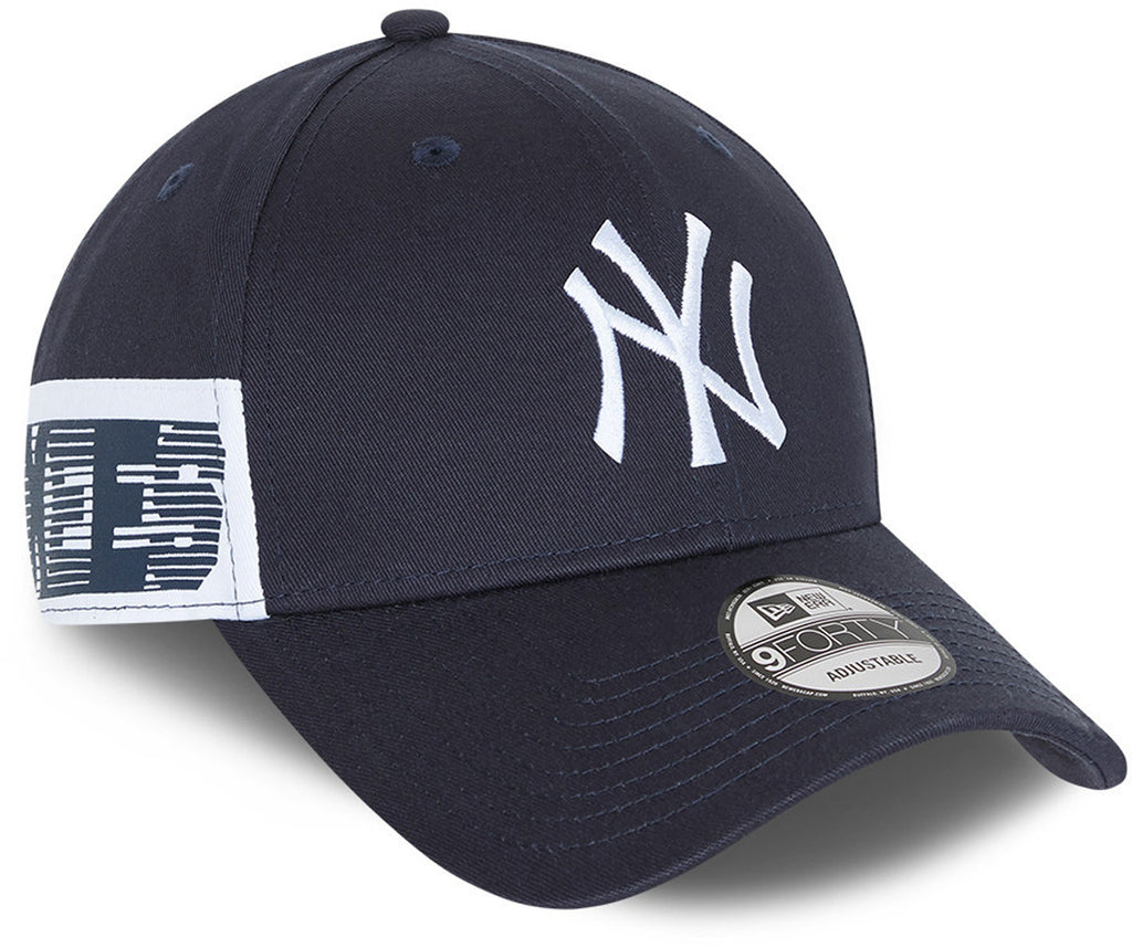 New York Yankees New Era 940 Side Mark Navy Baseball Cap