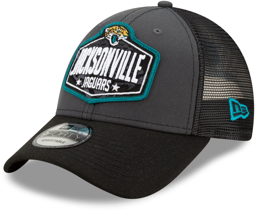 Jacksonville Jaguars New Era 940 NFL 2021 Draft Team Cap