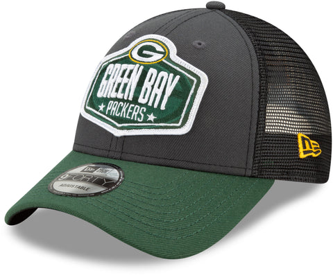 Green Bay Packers New Era 940 NFL 2021 Draft Team Cap
