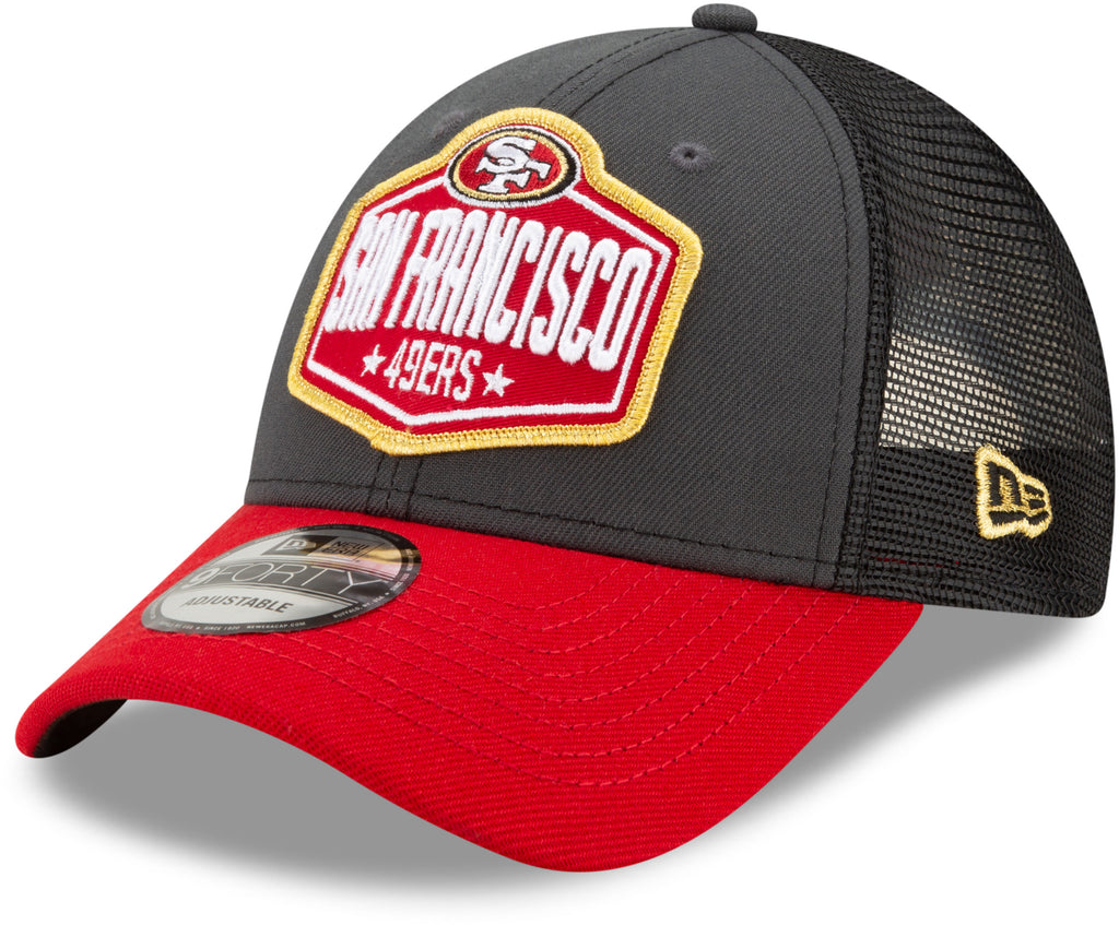 San Francisco 49Ers New Era 940 NFL 2021 Draft Team Cap