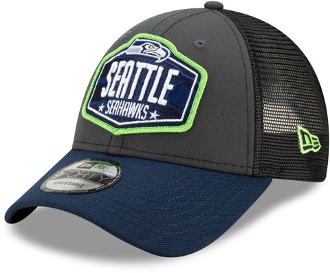 Seattle Seahawks New Era 940 NFL 2021 Draft Team Cap