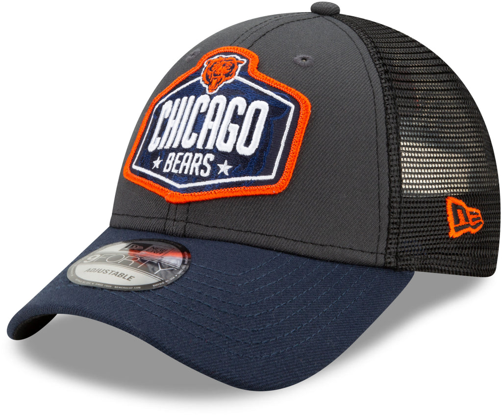 Chicago Bears New Era 940 NFL 2021 Draft Team Cap