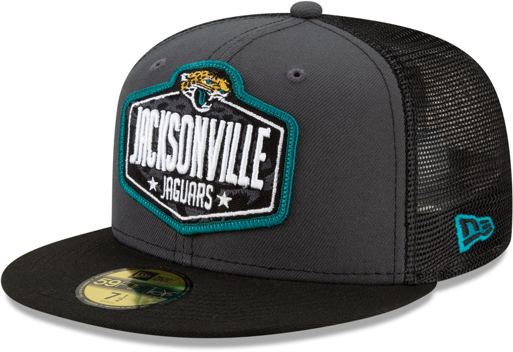 Jacksonville Jaguars New Era 5950 NFL 2021 Draft Fitted Team Cap