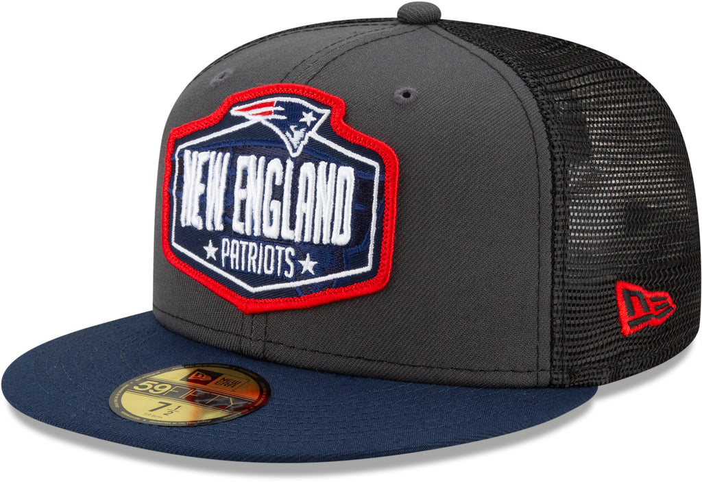 New England Patriots New Era 5950 NFL 2021 Draft Fitted Team Cap