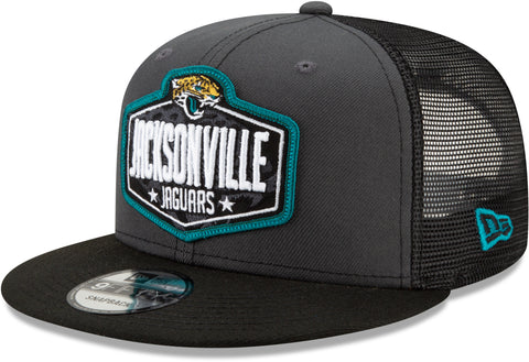 Jacksonville Jaguars New Era 950 Kids NFL 2021 Draft Snapback Cap (Ages 5 - 10)
