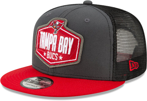 Tampa Bay Bucaneers New Era 9Fifty NFL 2021 Draft Snapback Cap