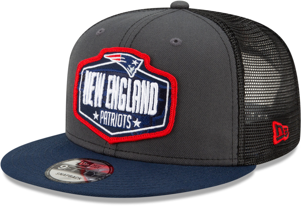 New England Patriots New Era 950 Kids NFL 2021 Draft Snapback Cap (Ages 5 - 10)