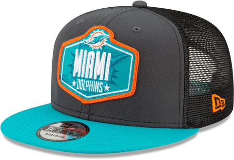 Miami Dolphins New Era 9Fifty NFL 2021 Draft Snapback Cap