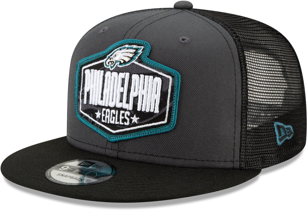 Philadelphia Eagles New Era 9Fifty NFL 2021 Draft Snapback Cap