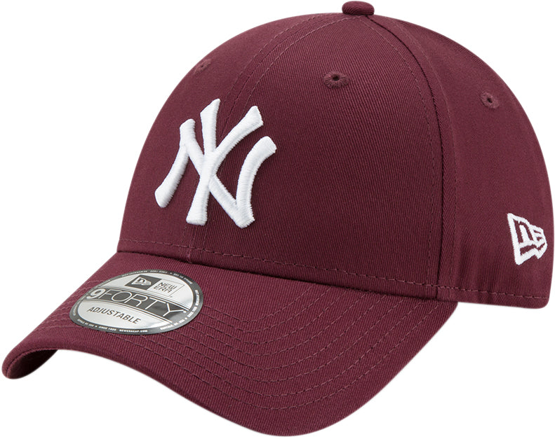 NY Yankees New Era 940 Kids League Essential Maroon Cap (Ages 2 - 10 years eb925d867b07