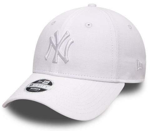 Womens NY Yankees New Era 940 Essential White Baseball Cap - lovemycap