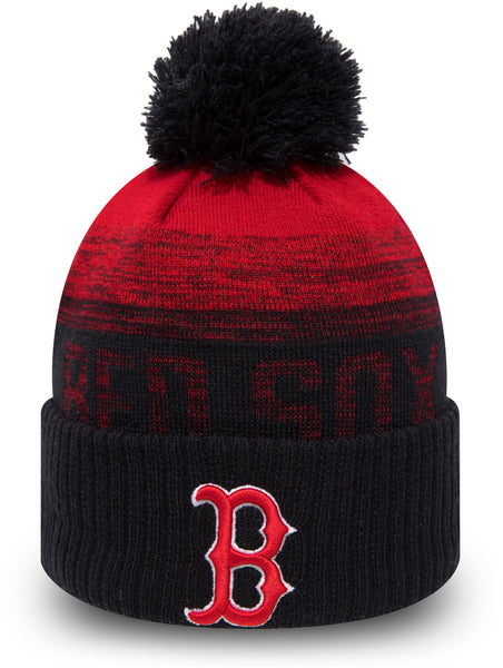 f51e9f70 Boston Red Sox New Era Kids Sport Knit Bobble Hat (Ages 2 - 10 years)