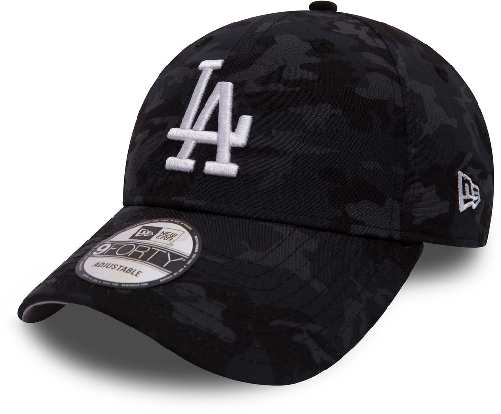 LA Dodgers New Era 940 Camo Team Baseball Cap - pumpheadgear, baseball caps