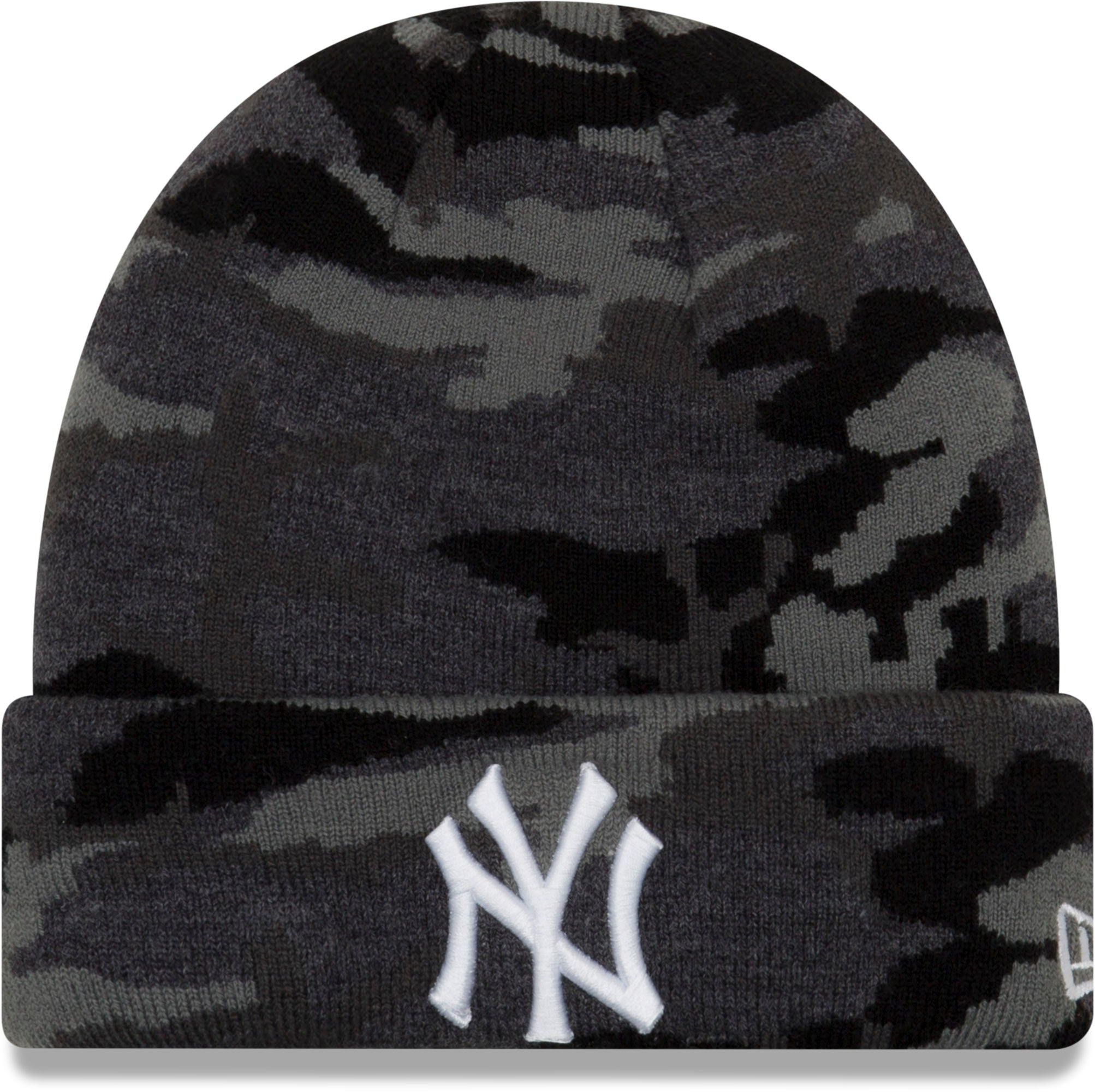 New York Yankees New Era Essential Midnight Camo Knit Beanie – lovemycap 08210acf8ae0