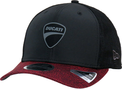 Ducati New Era 950 Engineered Fit Black Stretch Snap Cap