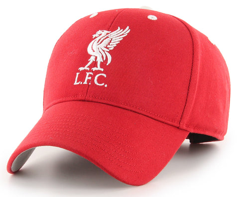 Liverpool FC Red Mass 47 Brand MVP Kleberg Cap - pumpheadgear, baseball caps