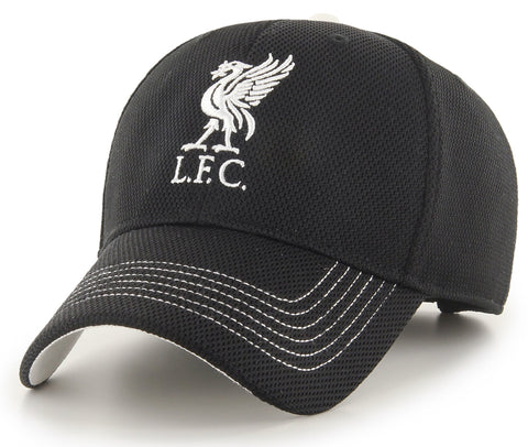 Liverpool FC Black Mass 47 Brand MVP Gustav Cap - pumpheadgear, baseball caps