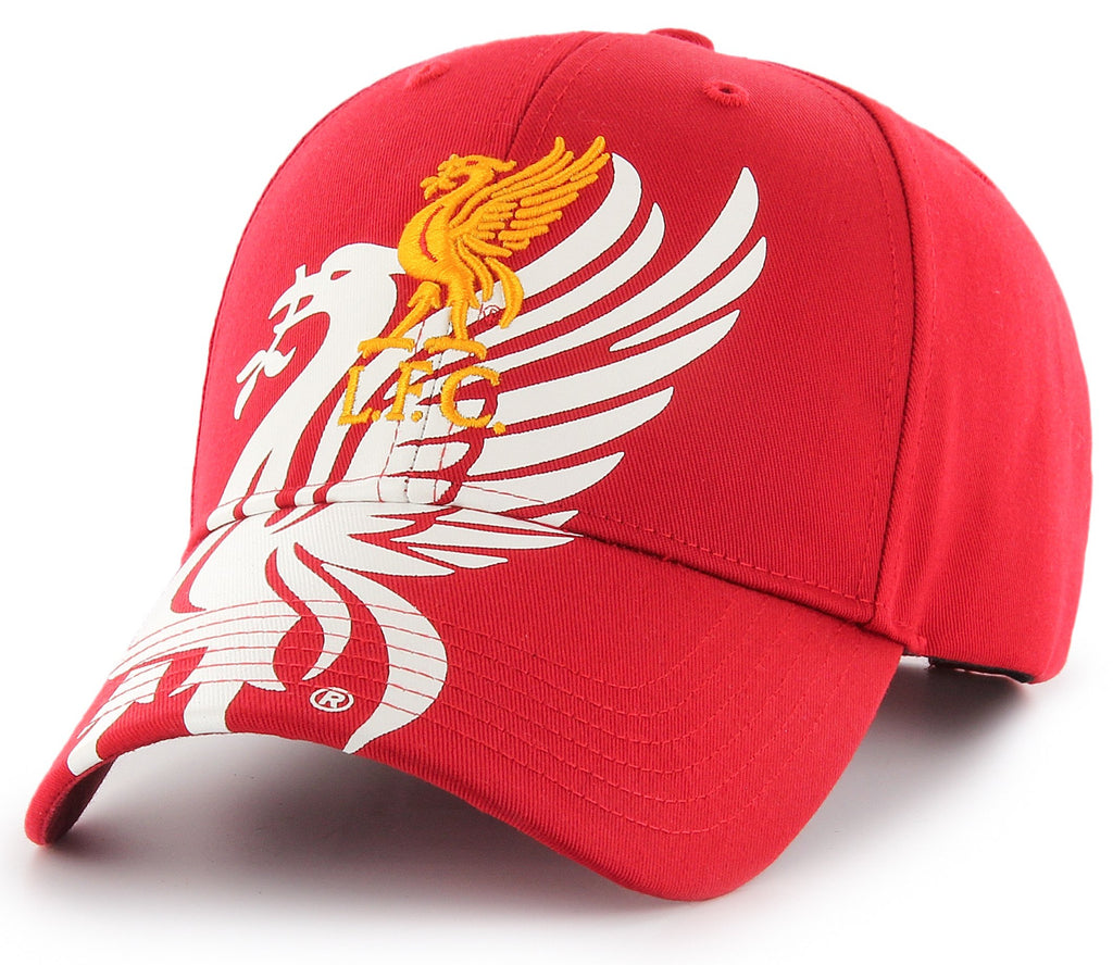 Liverpool FC Red Mass 47 Brand MVP Obsidian Cap - pumpheadgear, baseball caps