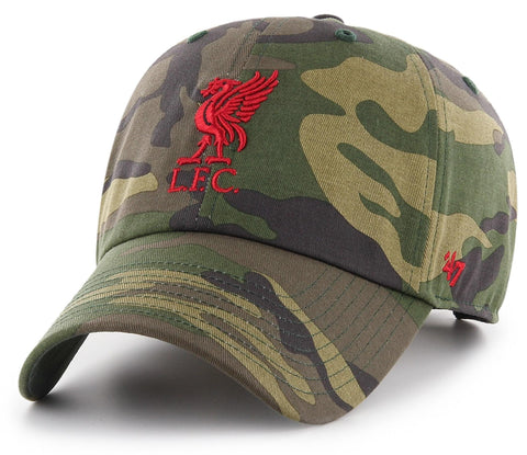 Liverpool FC 47 Brand Camo Clean Up Team Cap