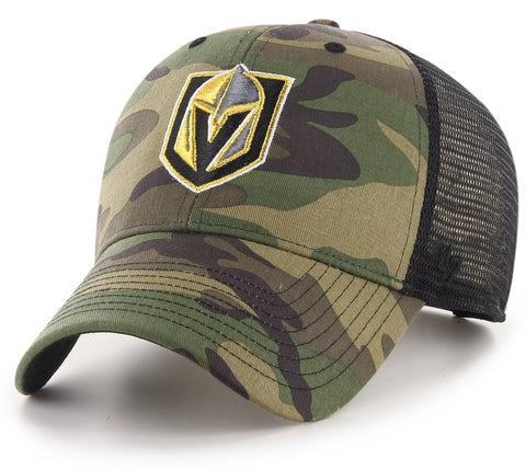Vegas Golden Knights 47 Brand MVP Camo Branson NHL Trucker Cap - pumpheadgear, baseball caps
