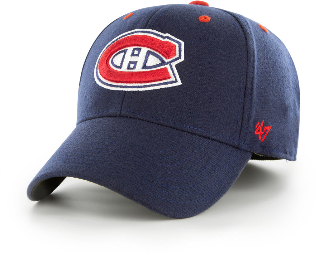 Montreal Canadiens 47 Brand Kickoff Stretch Fit NHL Cap