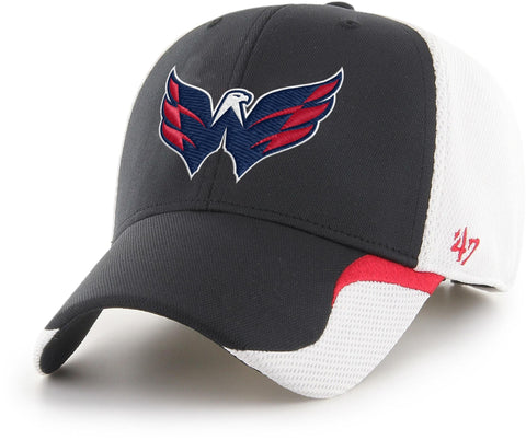 Washington Capitals 47 Brand MVP White/Black Bracken Cap