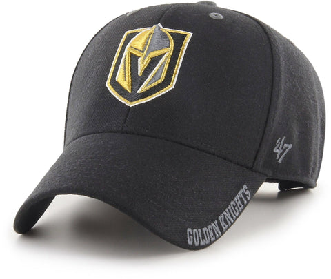 Vegas Golden Knights 47 Brand MVP Defrost NHL Team Cap