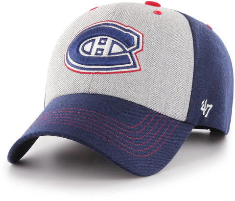 Montreal Canadiens 47 Brand Formation MVP Adjustable NHL Team Cap