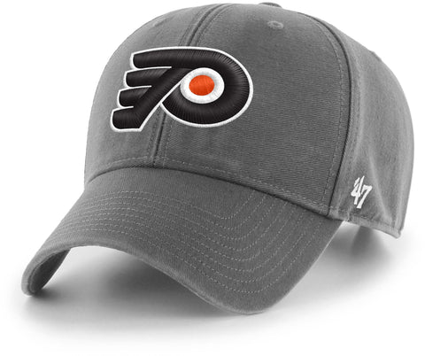 Philadelphia Flyers 47 Brand MVP Charcoal Legend NHL Team Cap